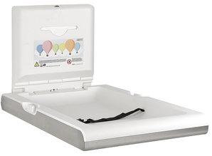 HYSCON Baby changing table vertical RVS