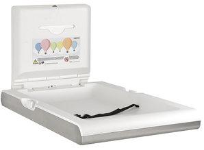 HYSCON Table à langer pour bébé verticale RVS