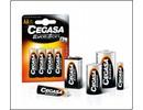 Cegassa C Cell Battery 2 pcs