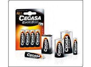 Cegassa Batterij D cel 2 stuks Alkaline.