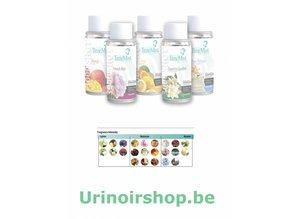 Timemist Urinoir luchtverfrisser vulling Bloem Macro - Copy