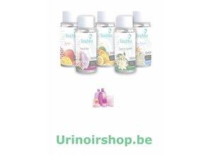 Timemist Urinal Aerosol refill 'Baby Powder' Macro