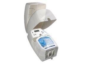 Vectair Entretien automatique de sanitaires Quadrasan, Chrome Satin