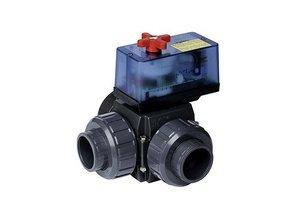 Praher 3 wegkraan 50mm  Eco