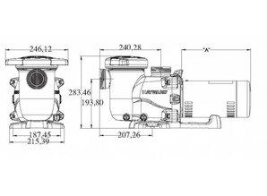 Hayward Max Flo XL 14,5 m³/u, 380V SP2310XE163