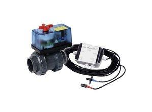 Elecktrische 2-wegkraan Praher S6 D63 230V-Eco 63 mm