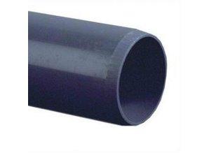PVC drukbuis, 7,5 bar, lengte p/m 63mm