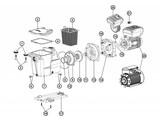 Hayward pompen spare-parts