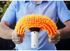 Waterco Aquafinger flexibele microvezelborstel.