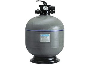 Waterco polyester Top mount zandfilter 15 m³/h