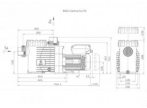 Speck Badu Gamma ECO VS 1,1 kw