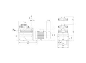 Speck Speck Badu 8 Top II  0.4 pk  9m³/h