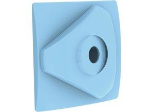Weltico richtbare  inspuiter 50mm voor liner blauw