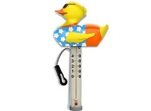 Kokido thermometer eend met bevestiging