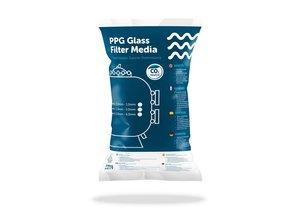 PPG PPG Glass Filter Media graad II 0.8 - 2.0 mm 25kg