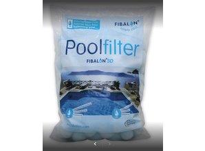 Fibalon voor filtermedium zand & patroonfilters (350 gr/doos)