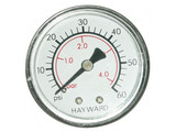 Hayward manometer 0- 4 bar  achteraansluiting