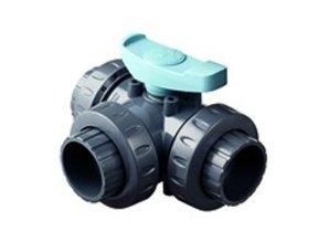 Astore 3-way robinets à tournant sphérique D50