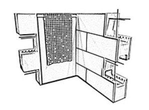 polystyreen bouwsteen 100 X 25 X 30 cm