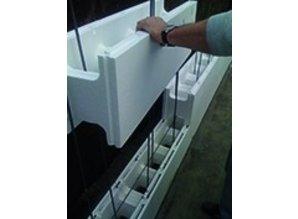 bloc de polystyrène 100 x 25 x 30 cm