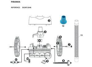 Piranha spare parts