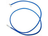 Blauw elastiek 2 x cabiclic 1m20