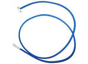 Blauw elastiek 6mm 2 x cabiclic 1m20