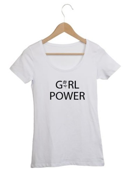 97257c8e724134 DAMES TSHIRT GIRL POWER