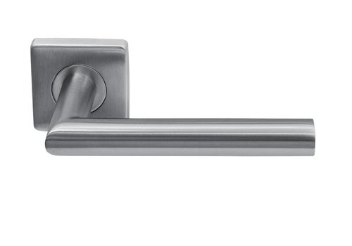 STAINLESS STEEL DOOR HANDLE JERSEY SQUARE