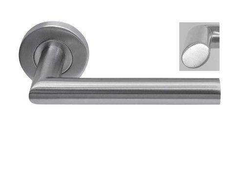 Stainless steel door handle Dakar oval