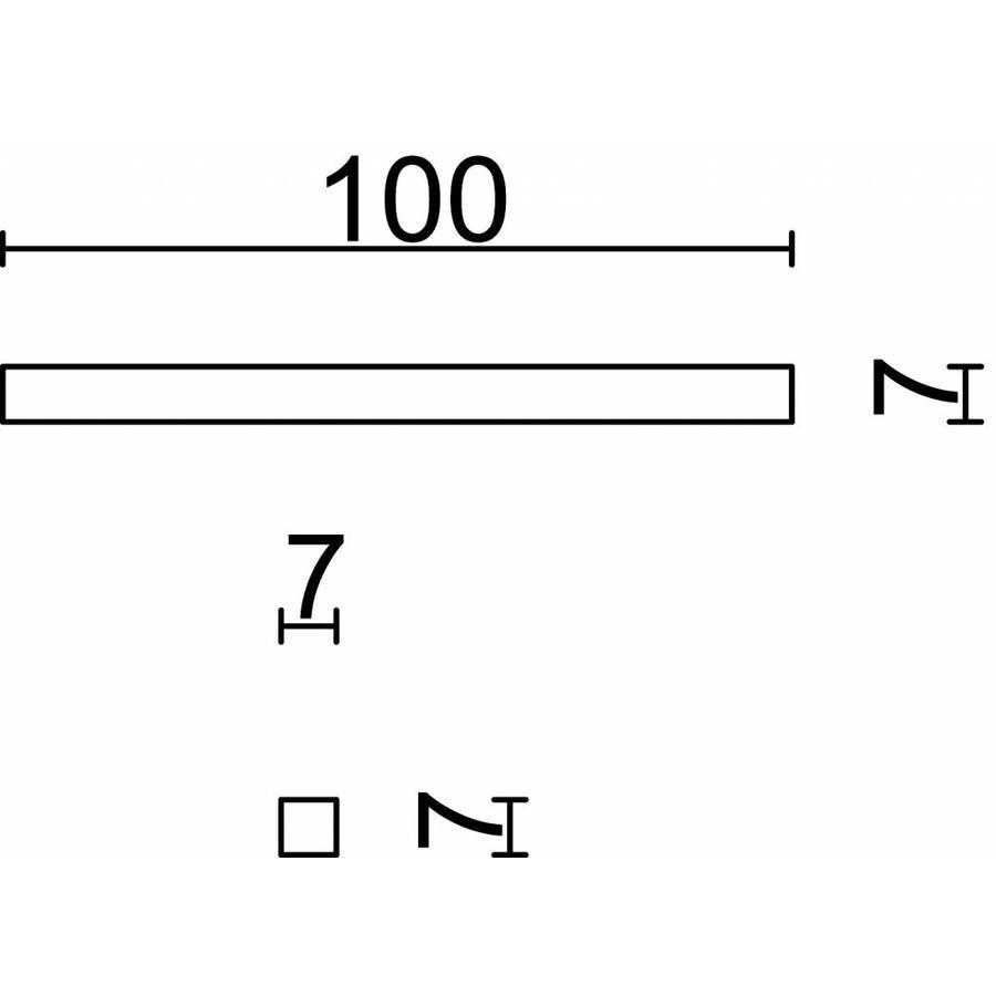 7x7x100 mm Pin-Klemme