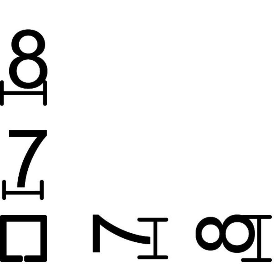 Adapter van 7 naar 8 (2 stuks)