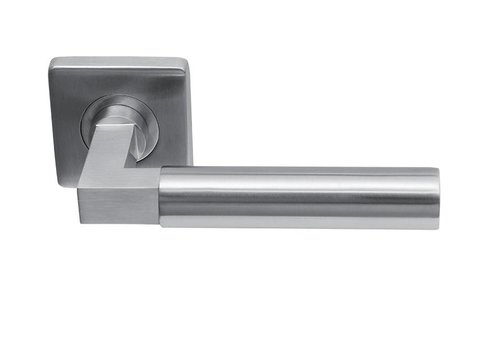 Door handles Sofia massive stainless steel square