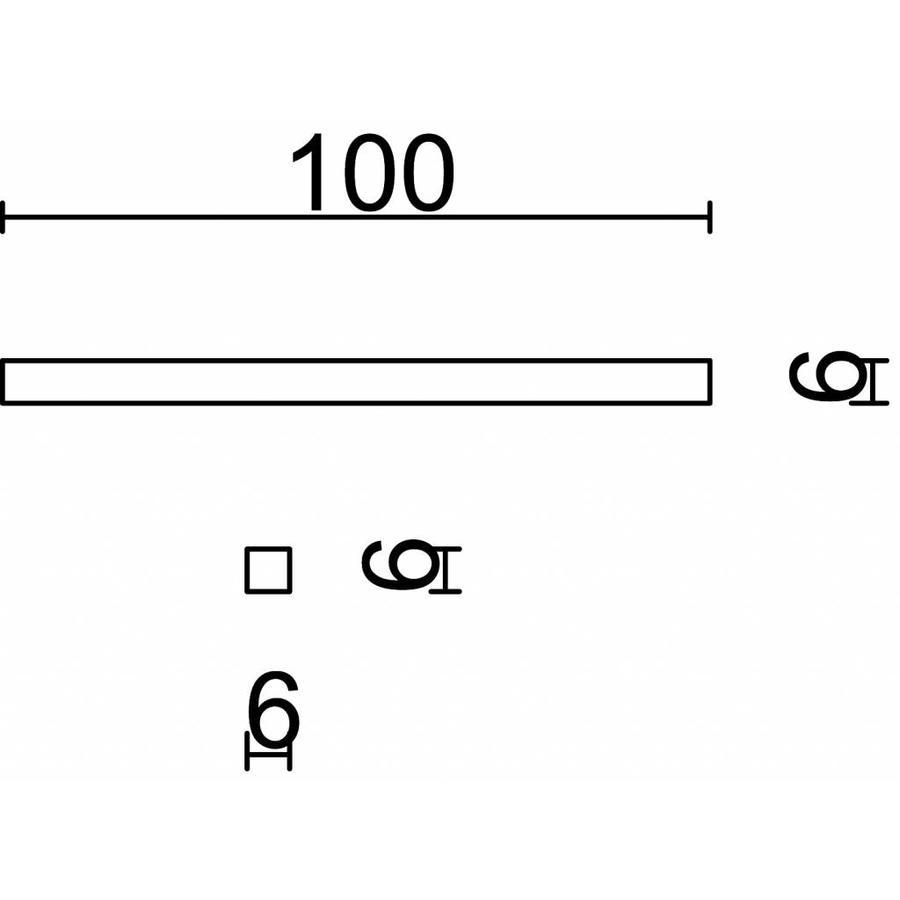 STIFT 6X6X100MM