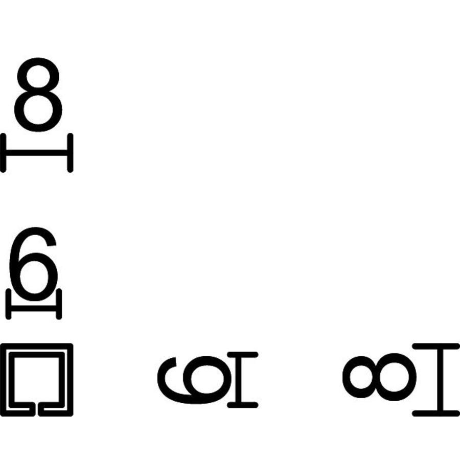 Adapter van 6 naar 8mm (2 stuks)