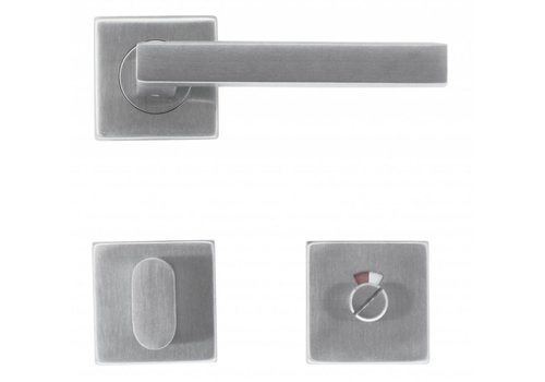 HANDLE KUBIC SHAPE 16 MM INOX PLUS + WC