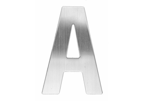 Stainless steel house letter A -130mm