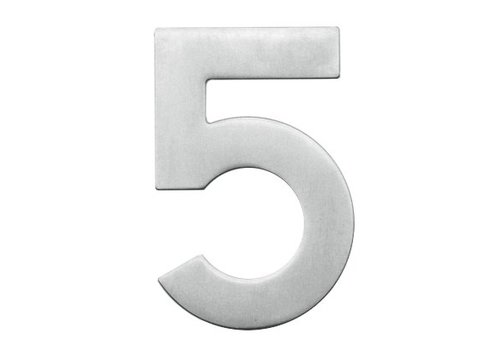 Stainless steel house number 5-130mm