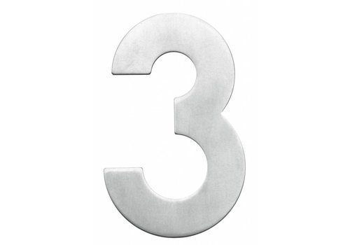 Stainless steel house number 3-130mm