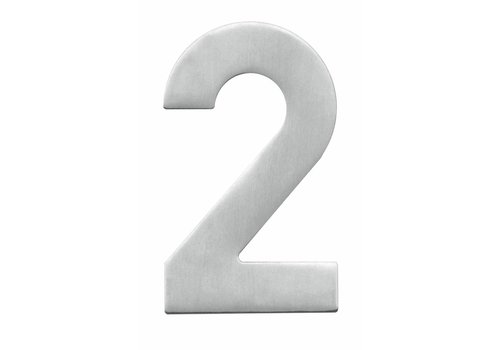Stainless steel house number 2-130mm