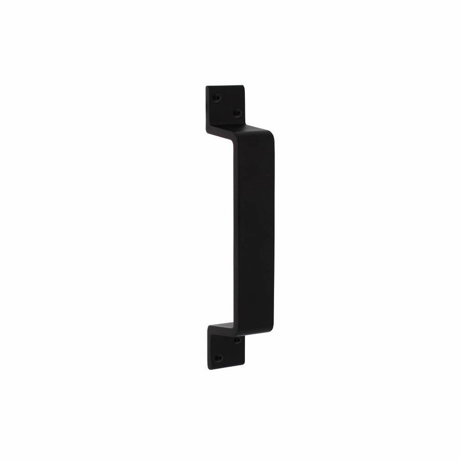 Handgreep rechthoekig 200x29mm mat zwart