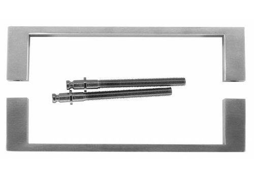 """Stainless steel door handles """"Cosmic"""" U 20/200 pair"""