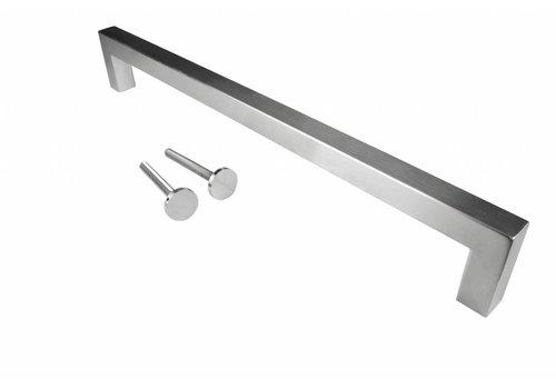 """Stainless steel door handle """"Cubica"""" U 25/500"""