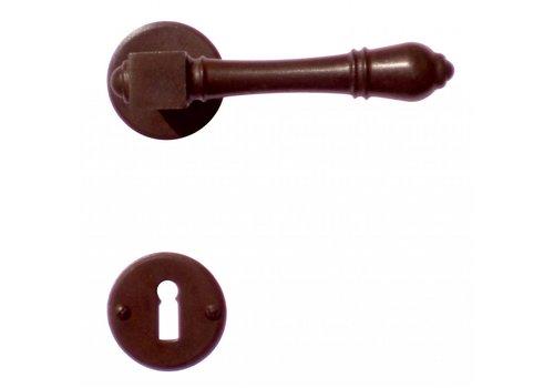 Door handles Carre rust with BB