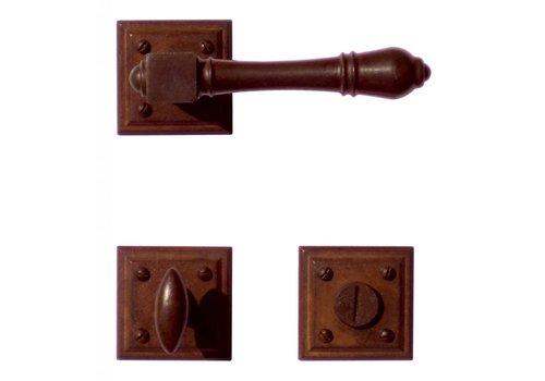 DOOR HANDLE CARRE RUST + WC