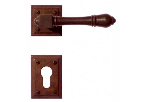 DOOR HANDLE CARRE RUST + CYL