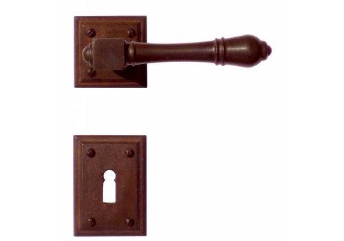 DOOR HANDLE CARRE RUST