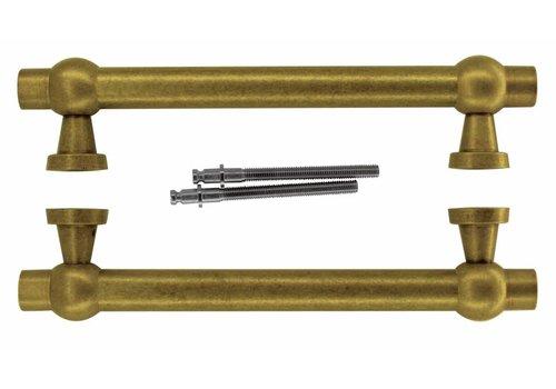"Door handles ""Petra royal"" 30/300/380 Old Yellow pair"