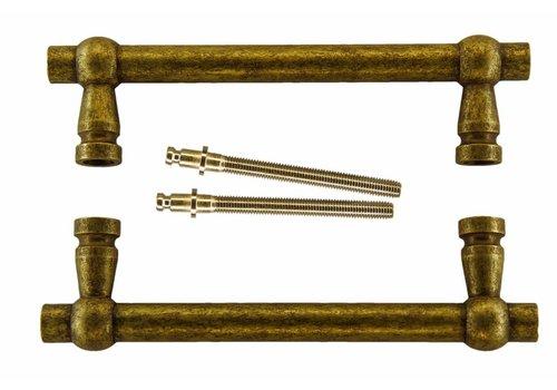 """Door handles """"Petra"""" 19/200/258 Old Yellow pair"""