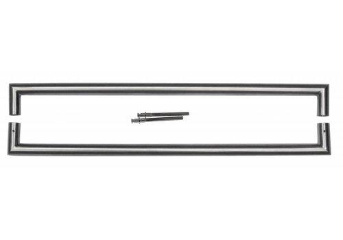 """Stainless steel door handles """"Urg"""" U 25/650 pair"""